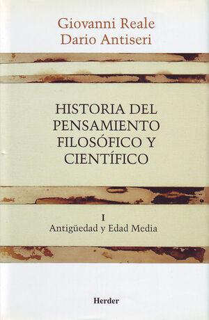 HISTORIA DEL PENSAMIENTO FILOSÓFICO Y CIENTÍFICO I