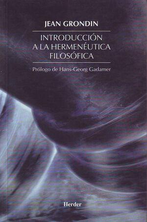 INTRODUCCIÓN A LA HERMENÉUTICA FILOSÓFICA