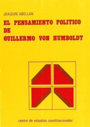 EL PENSAMIENTO POLÍTICO DE GUILLERMO VON HUMBOLDT