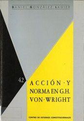 ACCIÓN Y NORMA EN G.H. VON WRIGHT