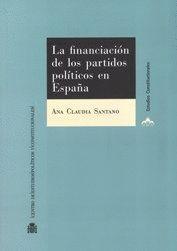 LA FINANCIACIÓN DE LOS PARTIDOS POLÍTICOS EN ESPAÑA