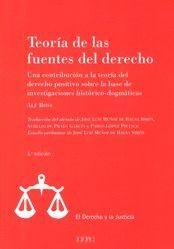 TEORÍA DE LAS FUENTES DEL DERECHO
