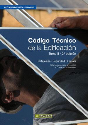 CÓDIGO TÉCNICO DE LA EDIFICACIÓN(TOMO II- 2ª EDICIÓN)  CTE