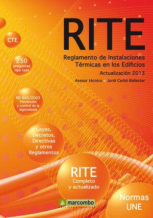 REGLAMENTO DE INSTALACIONES TÉRMICAS EN LOS EDIFICIOS (RITE)