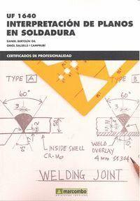 *INTERPRETACIÓN DE PLANOS EN SOLDADURA (UF1640)