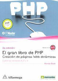 EL GRAN LIBRO DE PHP: CREACIÓN DE PAGINAS WEB DINÁMICAS