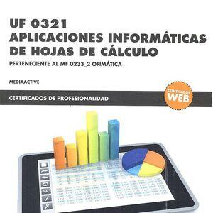 *UF 0321 APLICACIONES INFORMÁTICAS DE HOJAS DE CÁLCULO