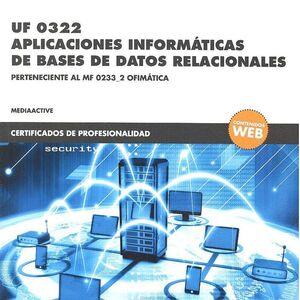 *UF 0322 APLICACIONES INFORMÁTICAS DE BASES DE DATOS RELACIONALES
