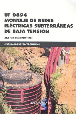 *UF 0894 MONTAJE DE REDES ELÉCTRICAS SUBTERRÁNEAS DE BAJA TENSIÓN