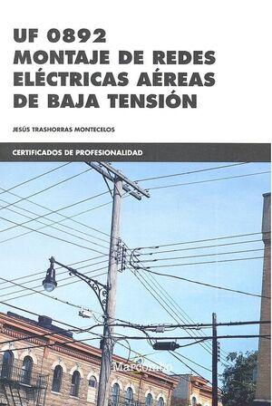 *UF0892 MONTAJE DE REDES ELÉCTRICAS AÉREAS DE BAJA TENSIÓN