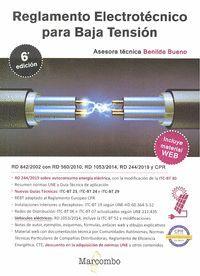 REGLAMENTO ELECTROTÉCNICO PARA BAJA TENSIÓN 6ª ED.