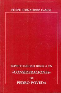 ESPIRITUALIDAD BBLICA EN CONSIDERACIONES DE PEDRO POVEDA