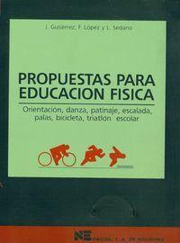 PROPUESTAS PARA EDUCACIÓN FSICA ORIENTACIÓN, DANZA, PATINAJE, ESCALADA, PALAS, BICICLETA Y TRIATLÓN