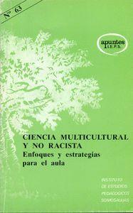 CIENCIA MULTICULTURAL Y NO RACISTA ENFOQUES Y ESTRATEGIAS PARA EL AULA