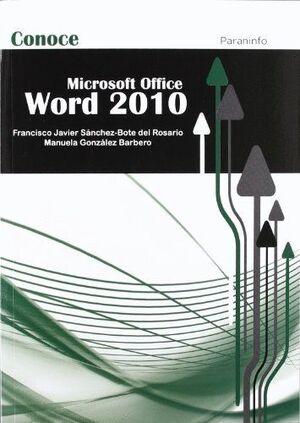 CONOCE WORD 2010