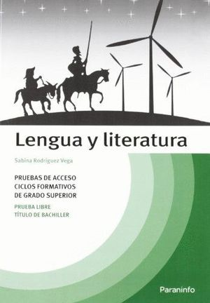 TEMARIO LENGUA Y LITERATURA PRUEBAS ACCESO CICLOS FORMATIVOS