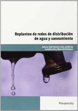 REPLANTEO DE REDES DE DISTRIBUCIÓN DE AGUA Y SANEAMIENTO