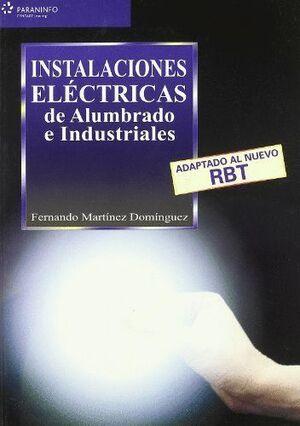 INSTALACIONES ELÉCTRICAS DE ALUMBRADO E INDUSTRIALES