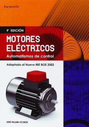 MOTORES ELÉCTRICOS. AUTOMATISMOS DE CONTROL