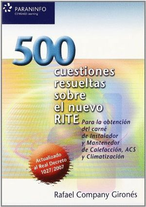 500 CUESTIONES RESUELTAS SOBRE EL NUEVO RITE