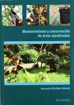MANTENIMIENTO Y CONSERVACIÓN DE ÁREAS AJARDINADAS