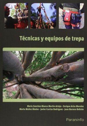 TÉCNICAS Y EQUIPOS DE TREPA