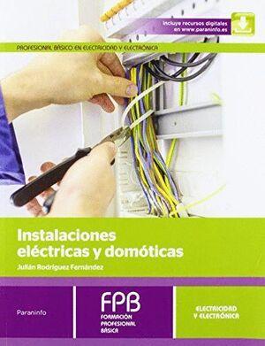 INSTALACIONES ELÉCTRICAS Y DOMÓTICAS
