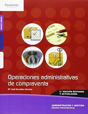 OPERACIONES ADMINISTRATIVAS DE COMPRAVENTA 2.ª EDICIÓN