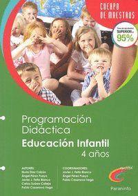 PROGRAMACIÓN DIDÁCTICA Y UNIDAD DIDÁCTICA DE EDUCACIÓN INFANTIL 2º CICLO (4 AÑOS)
