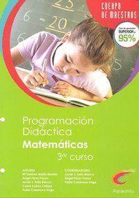 PROGRAMACIÓN DIDÁCTICA DE EDUCACIÓN PRIMARIA, ÁREA DE MATEMÁTICAS (2º CICLO, 3º CURSO)