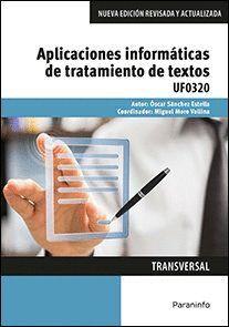 APLICACIONES INFORMÁTICAS DE TRATAMIENTO DE TEXTOS. MICROSOFT WORD 2016