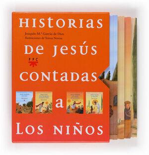 HISTORIAS DE JESÚS CONTADAS A LOS NIÑOS. ESTUCHE PEQUEÑO