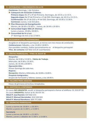 EVANGELIO POPULAR 2018. PARROQUIA NTRA. SRA. SAGRADO CORAZÓN