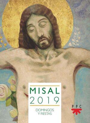 MISAL 2019. DOMINGOS Y FIESTAS