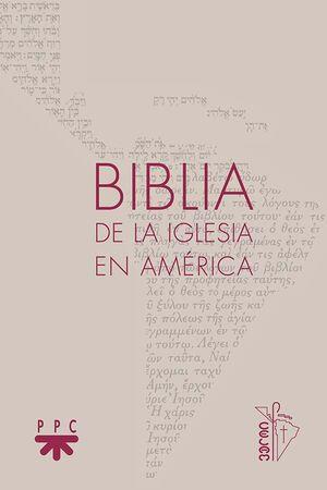BIBLIA DE LA IGLESIA EN AMÉRICA [RÚSTICA]