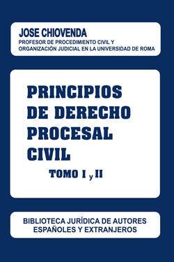 PRINCIPIOS DE DERECHO PROCESAL CIVIL