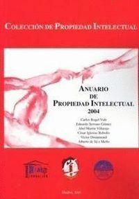 ANUARIO DE PROPIEDAD INTELECTUAL 2004