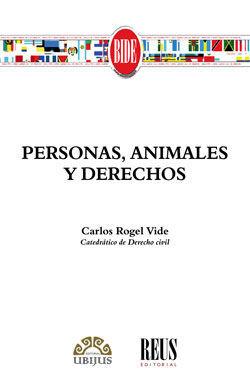 PERSONAS, ANIMALES Y DERECHOS