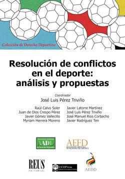 RESOLUCIÓN DE CONFLICTOS EN EL DEPORTE