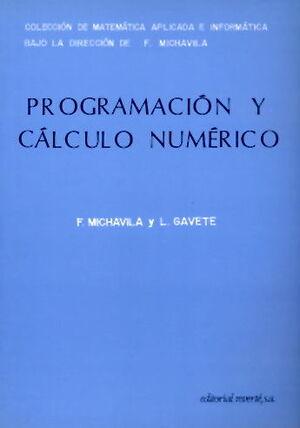 PROGRAMACIÓN Y CÁLCULO NUMÉRICO