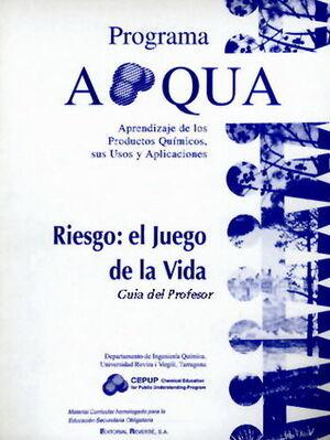 RIESGO: EL JUEGO DE LA VIDA. GUÍA DEL PROFESOR