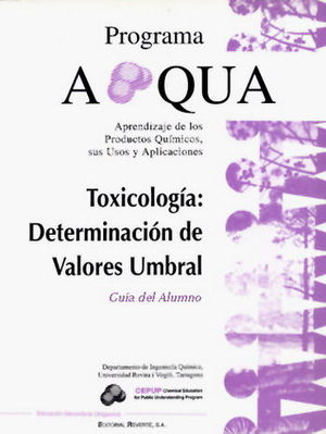 TOXICOLOGÍA: DETERMINACIÓN DE VALORES UMBRAL. GUIA DEL ALUMNO