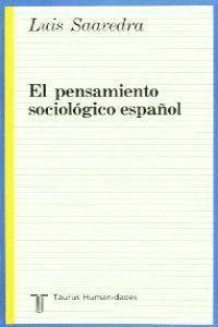 PENSAMIENTO SOCIOLOGICO ESPAÑOL      322