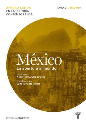 MÉXICO (1880/1930) LA APERTURA AL MUNDO