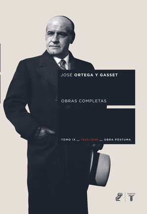 OBRAS COMPLETAS. TOMO IX (1933/1948) [OBRA PÓSTUMA]