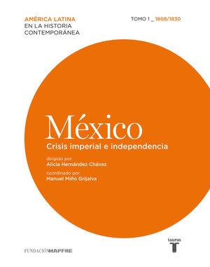 MÉXICO. CRISIS IMPERIAL E INDEPENDENCIA. 1808/1830