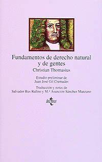 FUNDAMENTOS DERECHO NATURAL Y DE GENTES