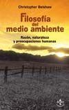 FILOSOFÍA DEL MEDIO AMBIENTE