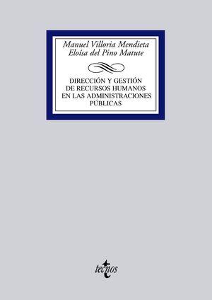 DIRECCIÓN Y GESTIÓN DE RECURSOS HUMANOS EN LAS ADMINISTRACIONES PÚBLICAS