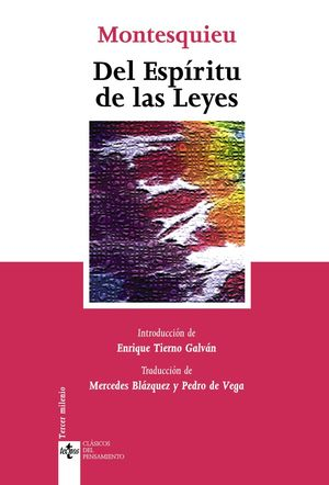 DEL ESPÍRITU DE LAS LEYES